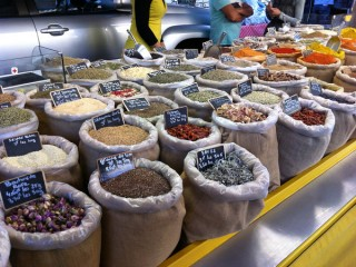 Market Grains and Spices