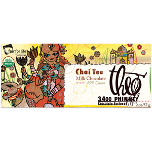 Theo Chai Tea Chocolate Bar