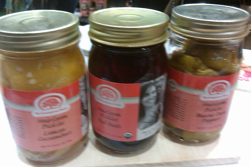Scrumptious Pantry Pickled Heirloom Vegetables