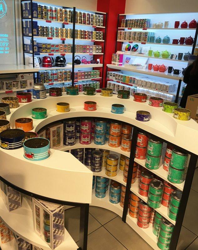 Kusmi Store in Paris