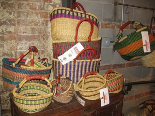 Display of basket in our store