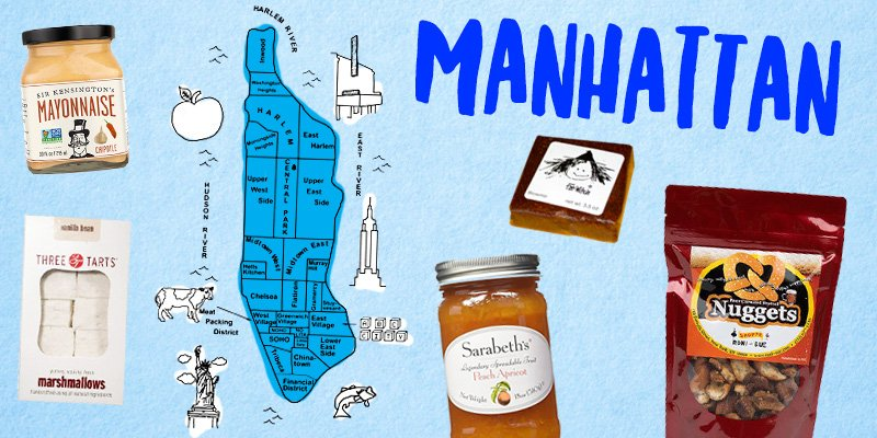 Foods of Manhattan