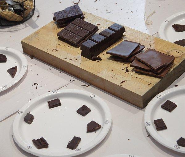 Blind tasting of Single Origin Chocolate Bars