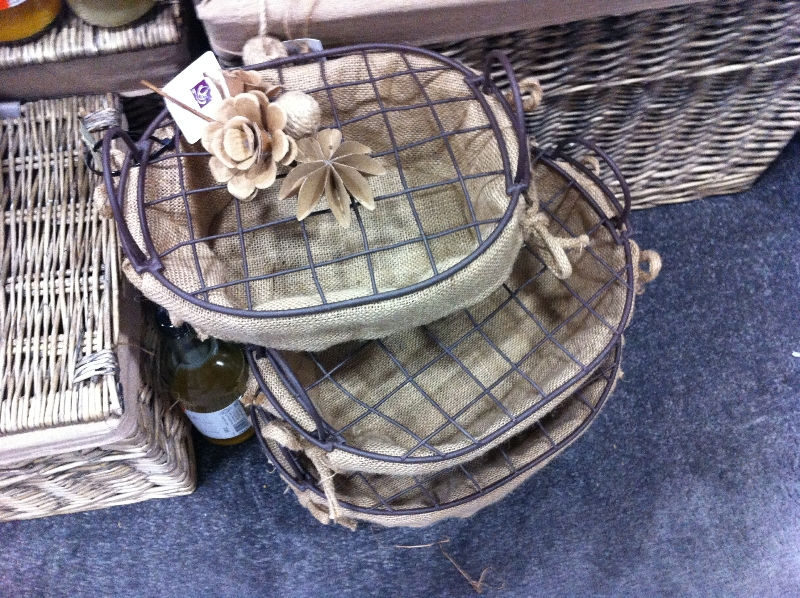 Bent Metal Basket