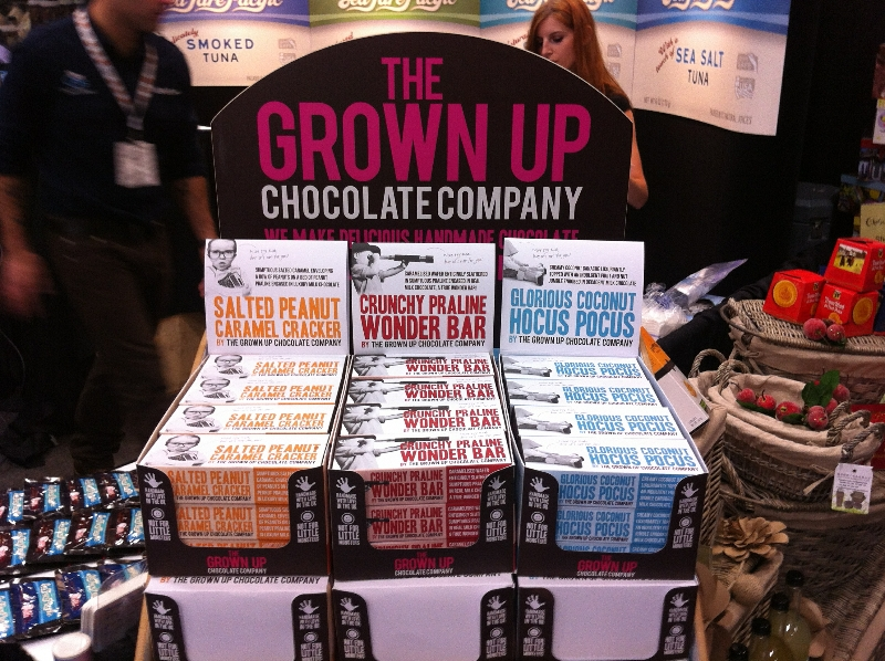 Grown Up Chocolate Co Bars