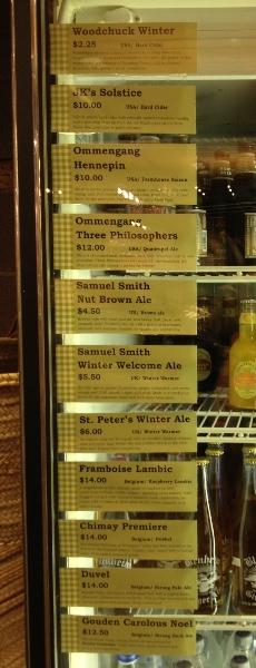 CMB Beers