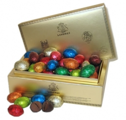 Leonidas Foil Wrapped Easter Eggs