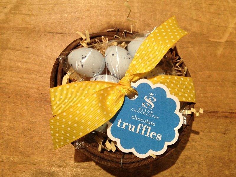 Saxon Chocolates Robin\'s Egg Truffles