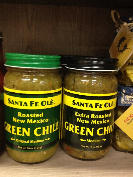 Santa Fe Ole New Mexico Green chilies $7.95