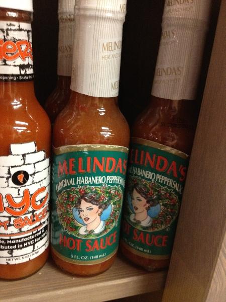 Melinda's XXXXtra hot sauce $2.95