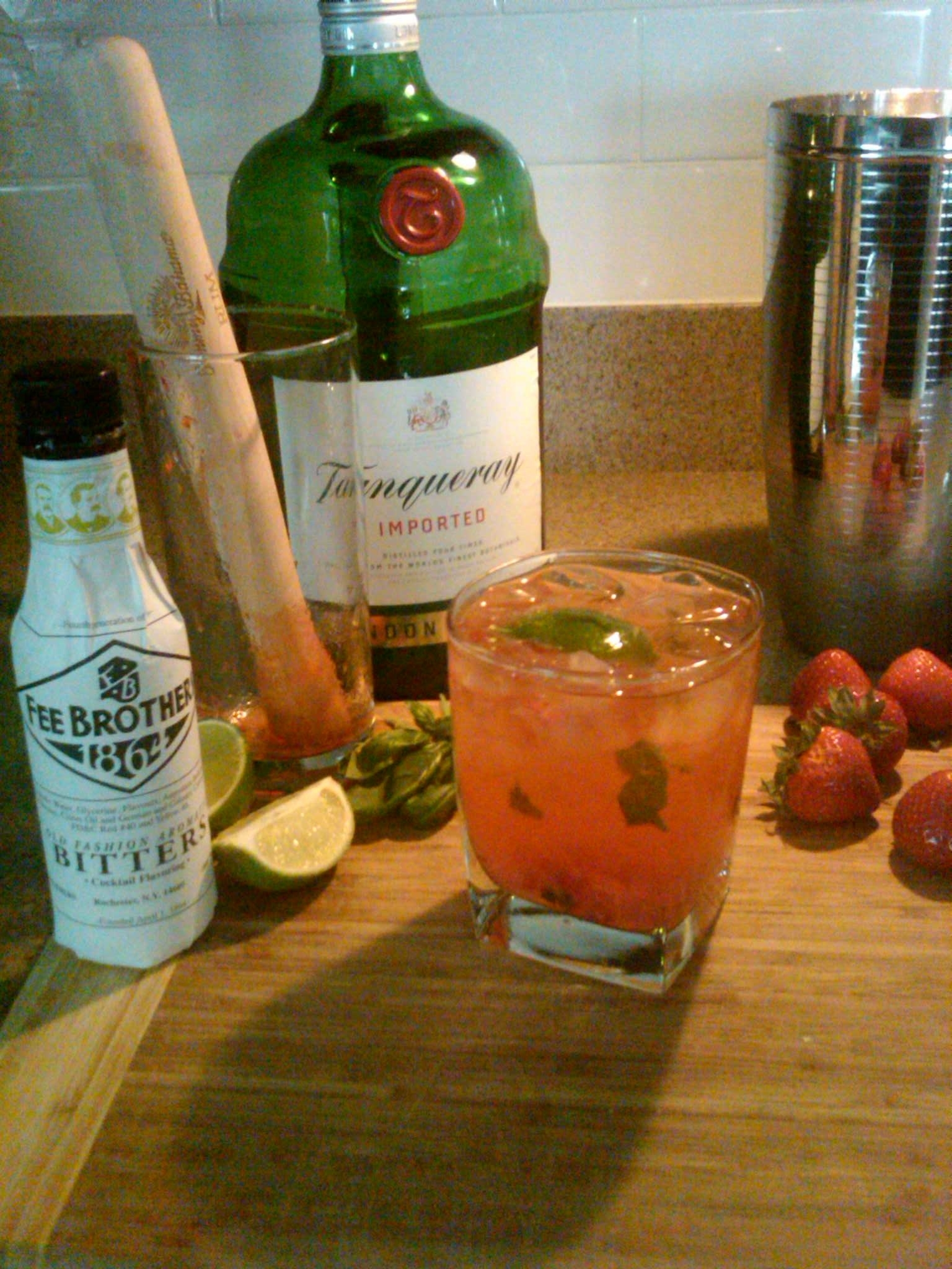 Summer Cocktail using Fee Brothers Bitters