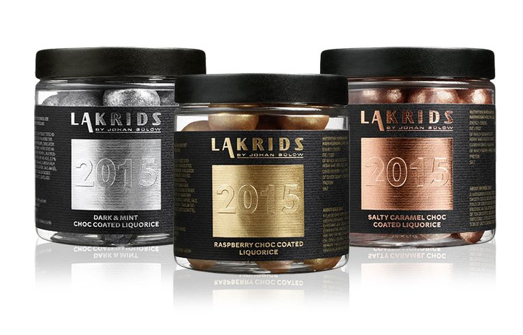 Lakrids Trio for 2015