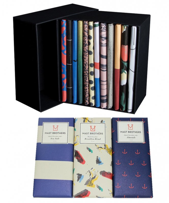 Mast Brothers 12 Bars Chocolate Set