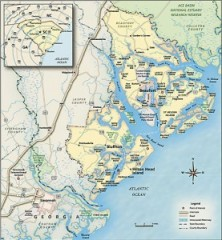 Lowcountry Map