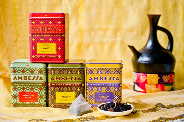 Ambessa Tea Collaboration with Harney and Sons