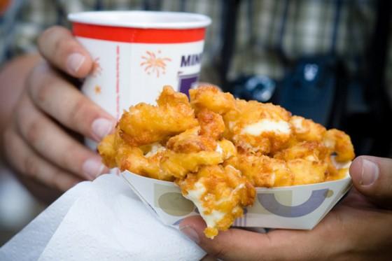 Deep Fried Cheese Curds
