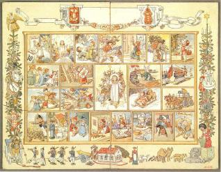 An Early Advent Calendar