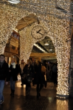Chelsea Market lit up for the Holidays!