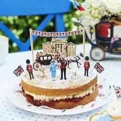 Jubilee Sponge Cake Toppers