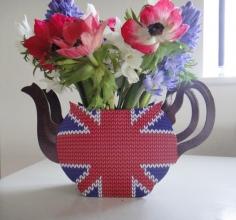 Talking Tables Teapot Vase