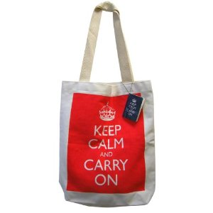 Keep Calm and Carry On Tote