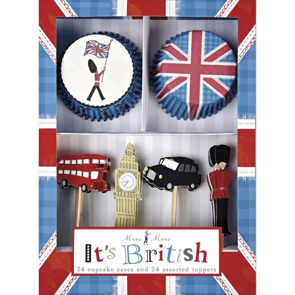 It's British! Cupcake Kit
