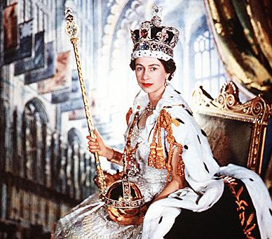 Queen Elizabeth the 2nd