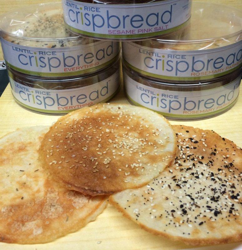 Lentil Rice Crispbread