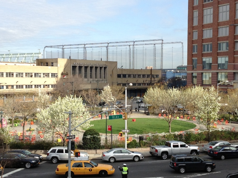 14th Street Park in May