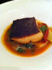 Greenmarket Menu Salmon Entree