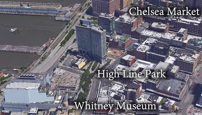 Whitney Museum and Chelsea Market