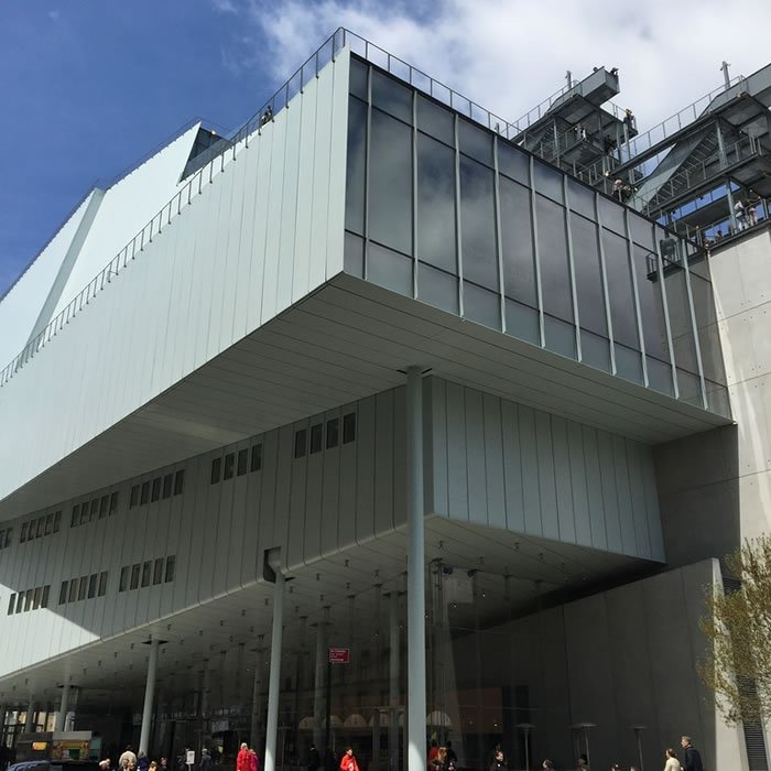 Whitney Museum Opens its doors