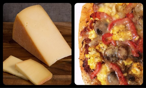 Raclette Cheese Slice - Breakfast Pizza