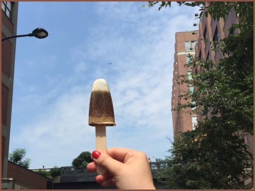 Creamy La Colombe Coffee Ice Pops