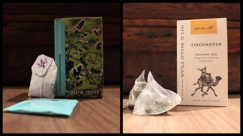 Summerdown Mint Tea, Silk Road Tiefuanyin Tea